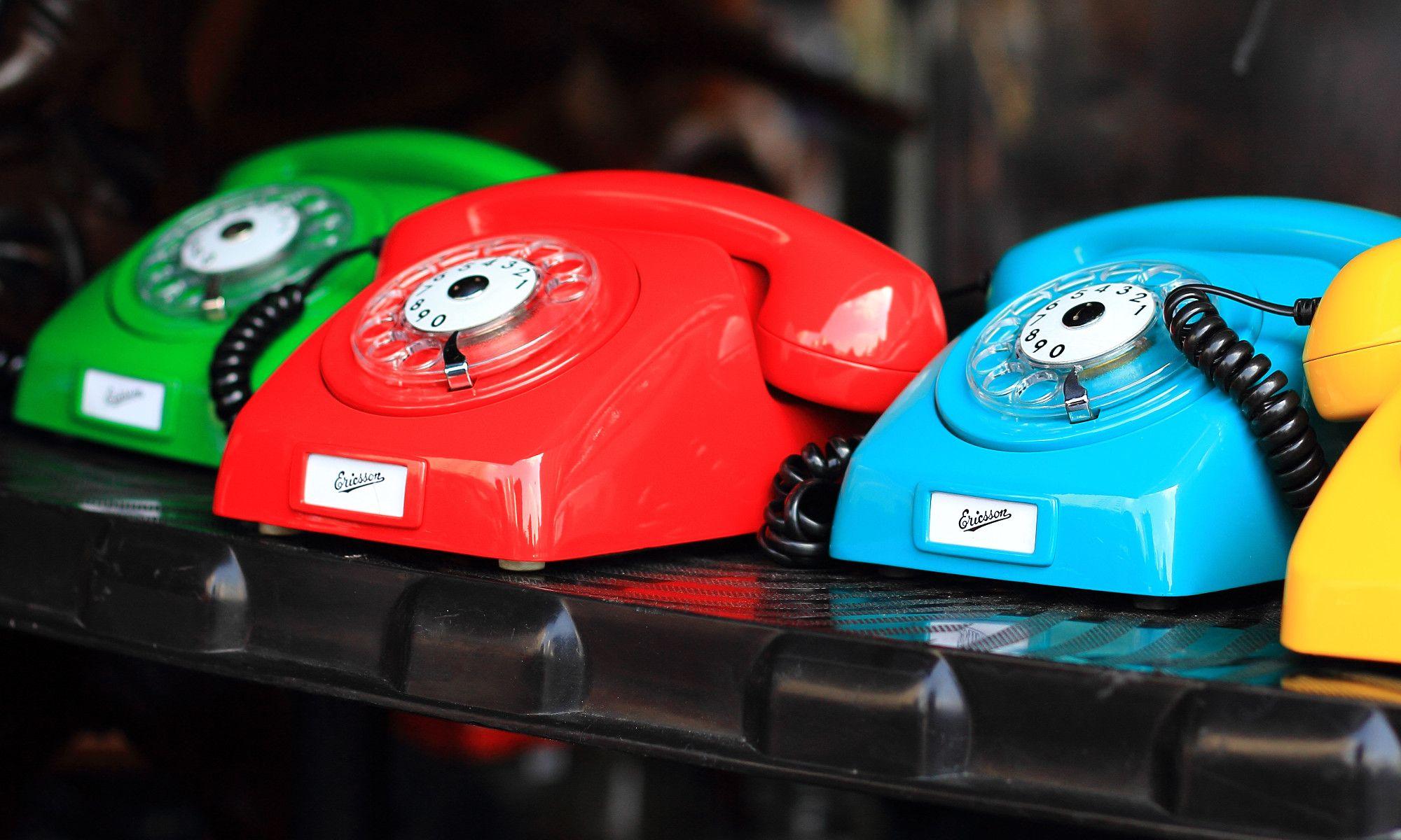 Telefonos de colores
