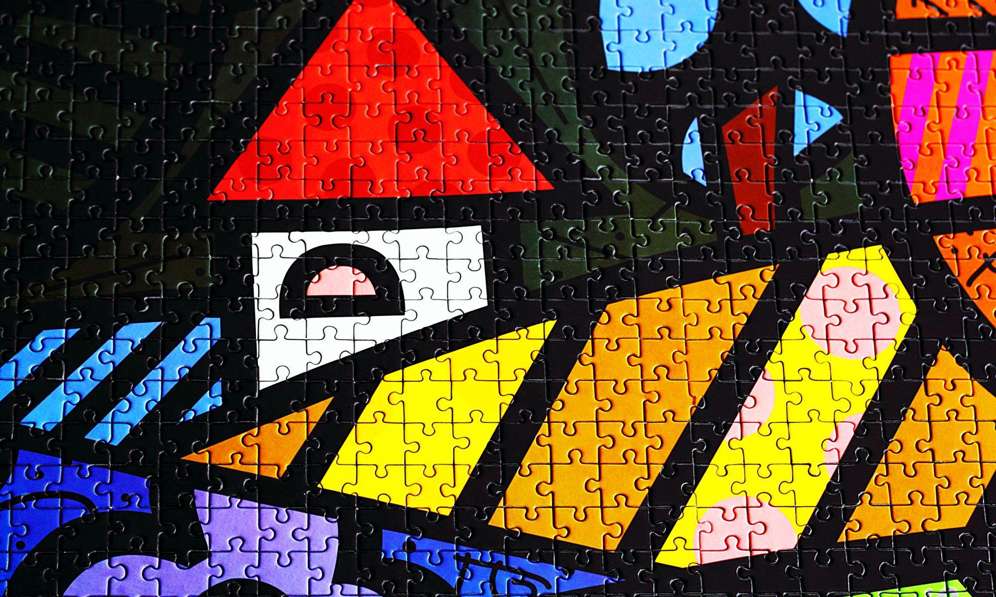 Romero Britto's puzzle